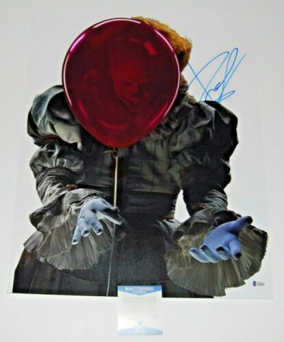 BILL SKARSGARD signed (IT) autographed 16X20 photo *Pennywise* BECKETT #2