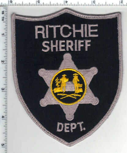 Ritchie Sheriff Dept. (West Virginia) 2nd Issue Uniform Take-Off Shoulder Patch