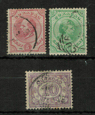 Curacao Lot of 3 Stamps #4812