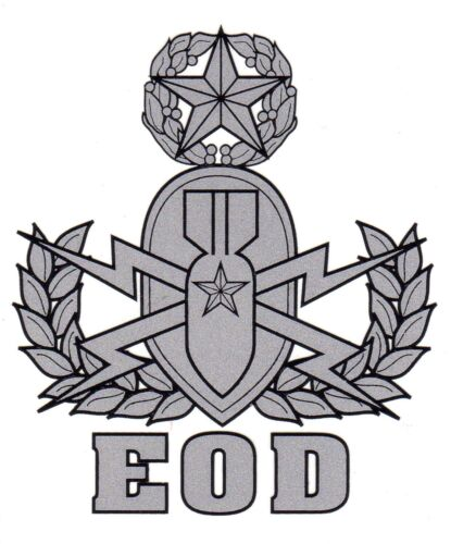 EOD Master Decal