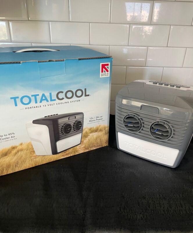 Totalcool Portable Air Cooler works on 24V car cig outlet or 120 wall outlet
