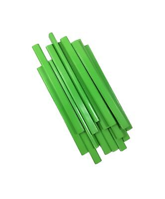Pencil Boxes In Bulk (Flat Wooden Neon Green Carpenter Pencils - 72 Count Bulk Box Made In The)