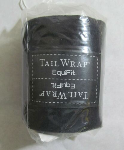 NEW EQUIFIT TAIL WRAP BLACK 01279   00892277174610