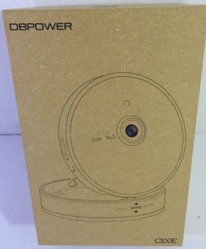 DBPOWER C100E WiFi Home Surveillance IP Camera two way audio chatting MICROPHONE