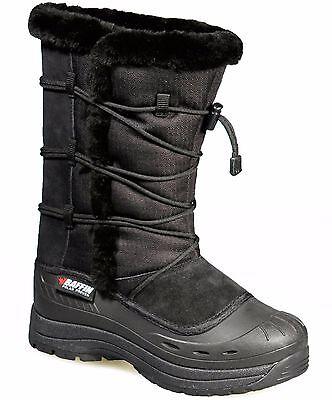 Baffin Womens Ella Winter Snow Boot Waterproof Insulated Black Boots, US 8 M