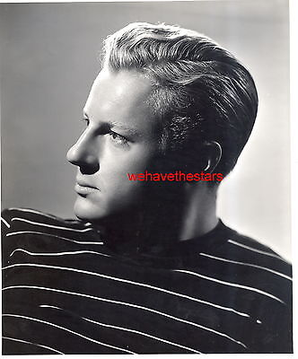 Vintage Richard Derr QUITE HANDSOME 40s Publicity Portrait on Rummage
