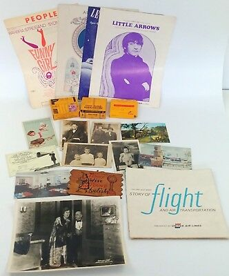 Ephemera Junk Drawer Lot of 19 Postcards RPPC Sheet Music Home Movies Photo