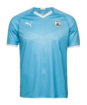 NWT Israel National Team 2019/20 Football Puma Shirt Soccer Men Jersey Size M image