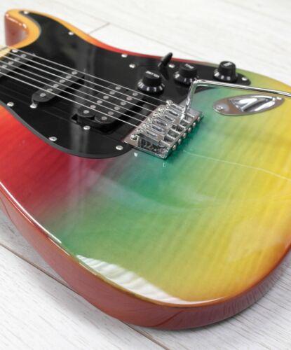 Stretton Payne ST SPECIAL Electric Guitar Maple Neck Rainbow