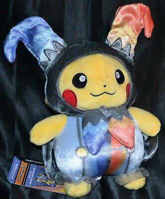 21.6cm Pikachu Halloween Zirkus Pokemon Center Poke Plüsch Puppen Spielsachen ()