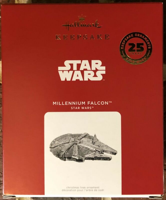 Hallmark Keepsake - Millennium Falcon - 25 Years - 2021 **Limited**