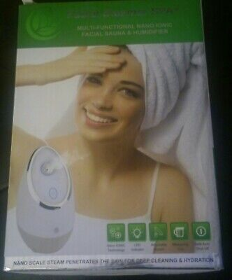 Facial Steamer SPA+ by Microderm GLO BEST, Professional Nano Ionic Warm Mist (Best Professional Facial Steamer)