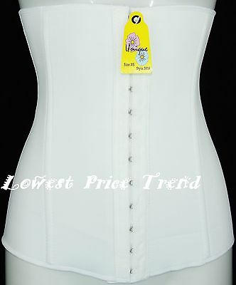 WHOLESALE PRICE, Bustier waist Cincher Body Tummy Girdle Corset Shaper WHITE 569