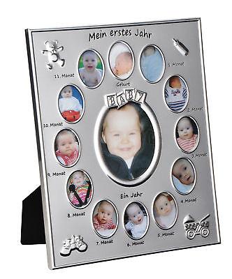 Bilderrahmen # Mein erstes Jahr # Baby Fotorahmen Bilderstrecke Monate Collage