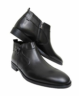 Herren Stiefeletten Boot Muga*039*Gr.46 Schwarz