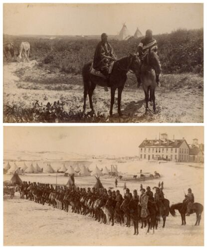 Two Original Wounded Knee Photographs From 1890-1891