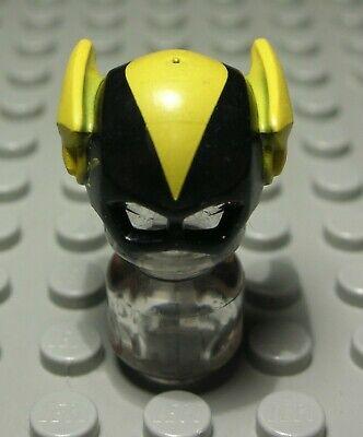 Lego Figur Zubehör Kopfbedeckung Maske Schwarz Gelb Batman - Lego Kopf Maske