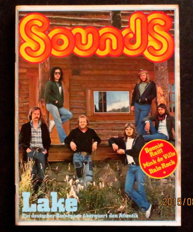 Sounds 11/77 Cover: Lake, Eberhard Schoener, Rush, Klaus Schulze, Ashra, Magma