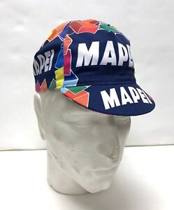b4a561a816c Mapei Vintage Professional Team Cycling Cap - Made in Italy by Apis