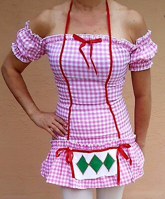 Womens  Costume STRAWBERRY SHORTCAKE DRESS  Adult Sz.S