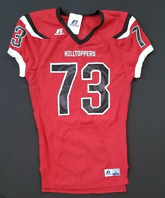 RUSSELL Athletic NCAA Hilltoppers #73 Football Game Jersey   Sz Large   NWT^