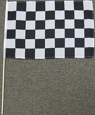 "CHECKERED FLAG 12X18 12"" X 18"" RACE FINISH LINE NEW W18"