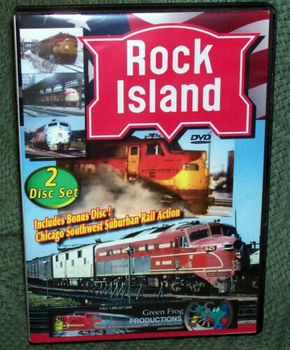 DVD ROCK ISLAND LINE SPECIAL 2-DISC 4 PROGRAM  COLLECTION