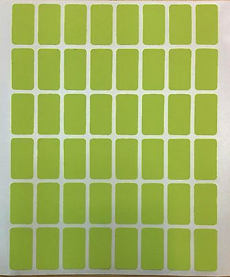 Easy Peel OFF Self Adhesive Green Label Tags Price Stickers - 960 PCS