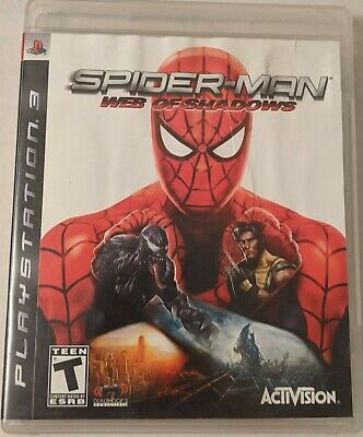Spider-Man: Web of Shadows  - Sony PlayStation 3 - PS3 *Free Shipping*