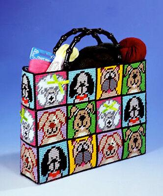 Design Works Plastic Canvas Kit - Dog Tote Bag