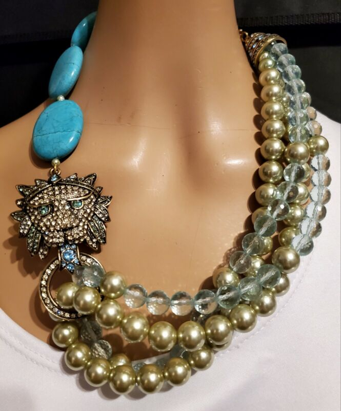 Heidi Daus Bling of the Jungle Necklace