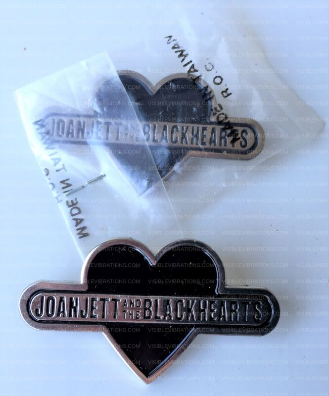 Joan Jett and the Blackhearts Pins SET OF TWO