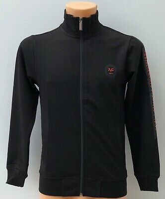 VERSACE 1969 Black Full Zip Track Top Jacket Size L BNWT