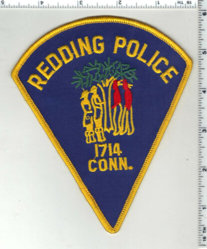 Redding Police (Connecticut) 2nd Issue Shoulder Patch