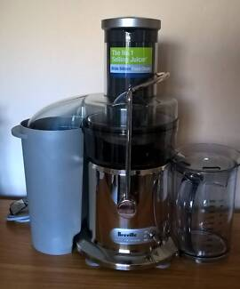 Breville Juice Fountain Plus ⁄ Max BJE410 Juicer, Great Condition Golden Grove Tea Tree Gully Area Preview