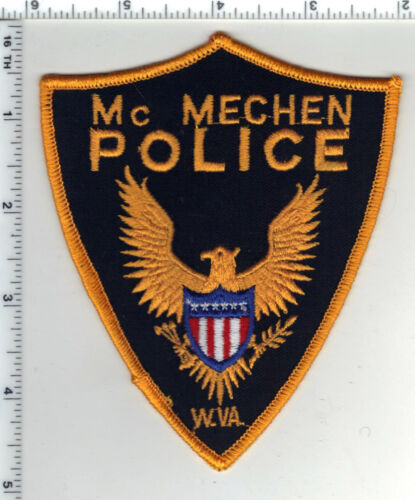 McMechen Police (West Virginia) 1st Issue Shoulder Patch