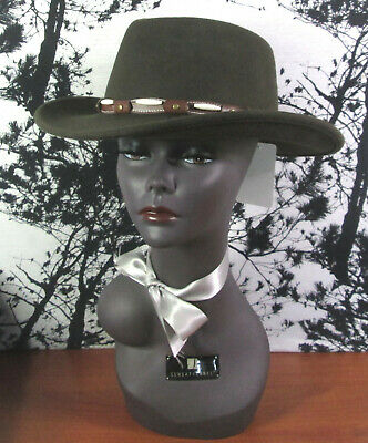 Henschel Hat CO USA Outback Taupe Large 5171-58 NEW Mens Felt Hat
