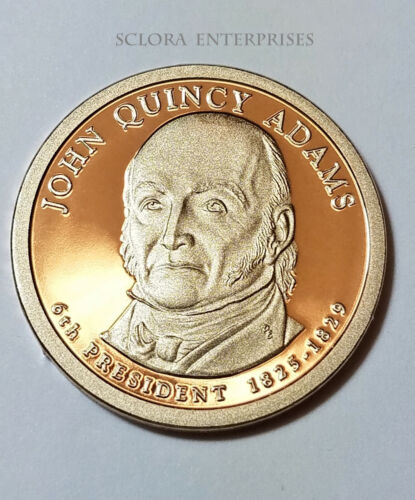2008 S John Quincy Adams Presidential *PROOF* Dollar Coin **FREE SHIPPING**