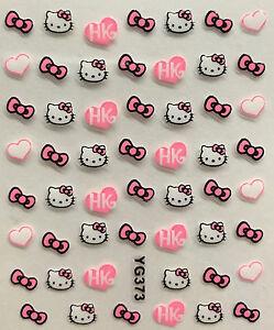 Hello Kitty Nail Stickers Ebay
