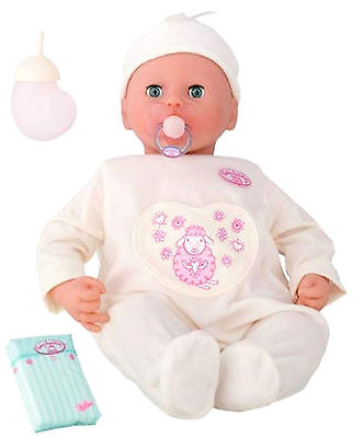 NEW Baby Annabell Interactive 18 in. Doll Turns Head Cries Real Tears 2006 Zapf