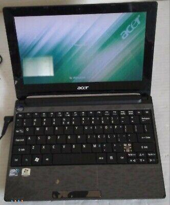 Acer Aspire One model:PAV70 10.1'' Laptop Netbook N455 1.66 GHz 250GB HD 1GB RAM
