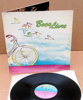 Boca Livre Bicicleta - orig. 1980 Brazil LP - Latin Musica popular Brasileira