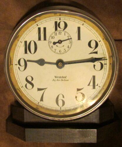 Antique Westclox Big Ben Deluxe Repeater Alarm Clock ~ Circa 1927 ~ NOT WORKING
