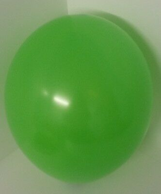 32 Balloons LIME GREEN Birthday Wedding Party Latex Balloon 12