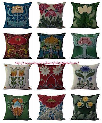 US SELLER-10pcs discount decorative pillows cushion covers art nouveau ()