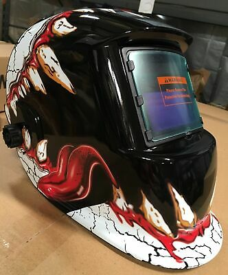Twt Auto Darkening Weldinggrinding Helmet Hood1 Carrying Bag1 Clear Cover
