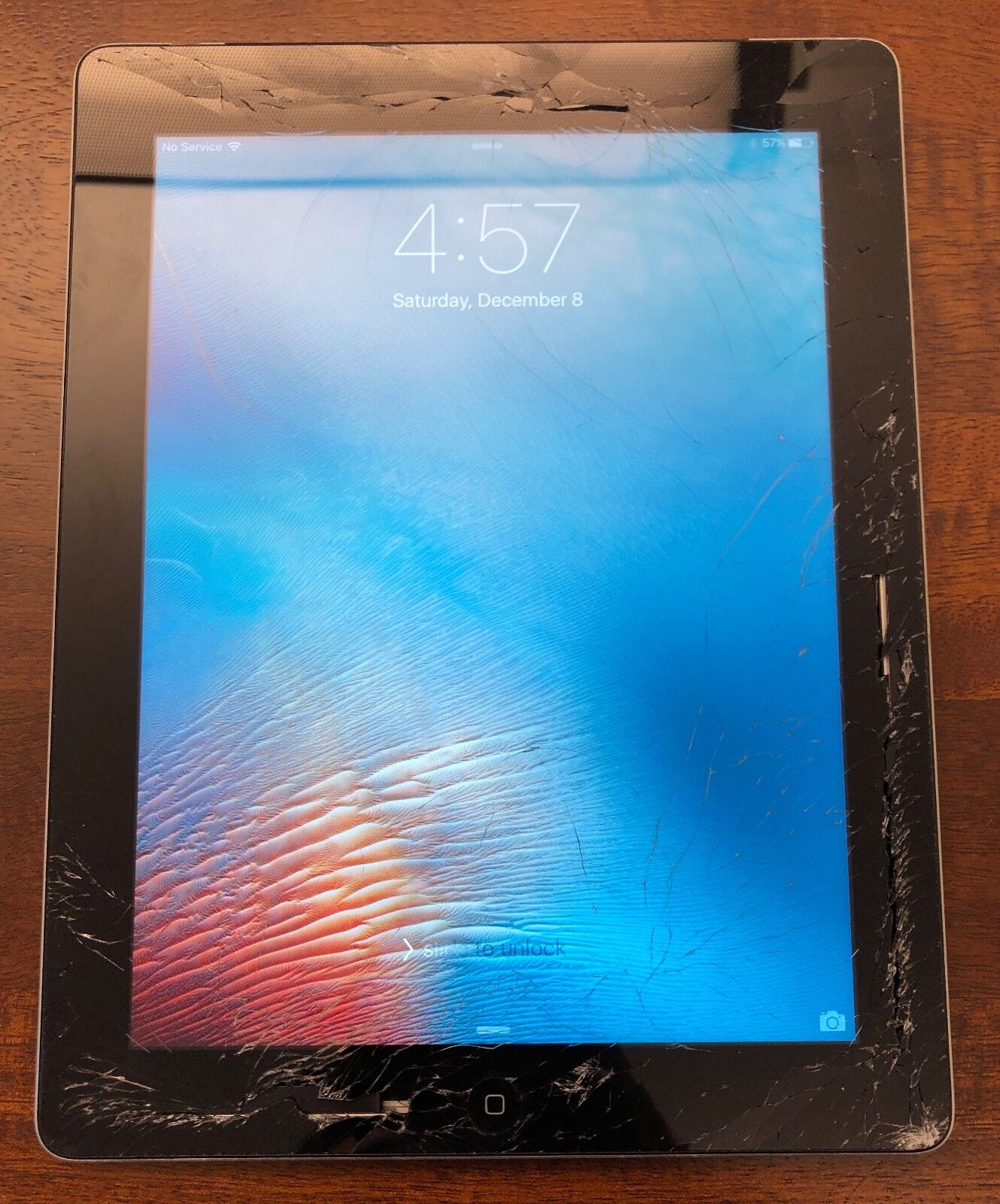 Working Apple iPad 3rd Gen. 64GB, Wi-Fi + Cellular (AT&T), 9.7in - Black