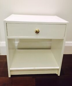 Side Table/Bedside Table-clean lines