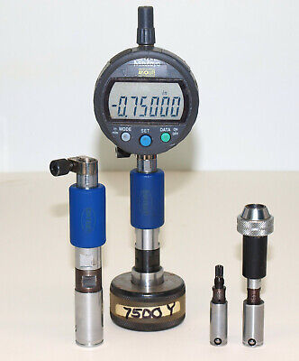 Diatest Bore Gage Lot .750 .625 .470 .3945 With Mitutoyo Digimatic Digital