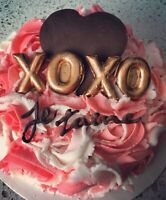 St-Valentin /VDay  Gâteau / Cakes et / and Cupcakes!